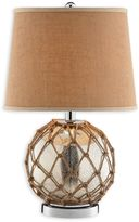 Stein World Marina Glass Table Lamp in Brown/Silver