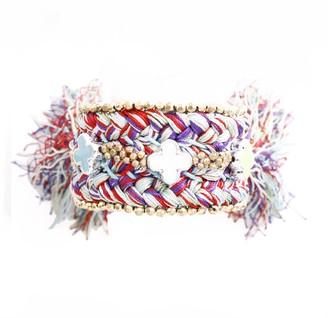 Marc Labat Gypsy Chic Cuff Bracelet Metal 15EB28 18 cm