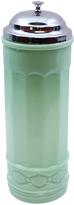 Tablecraft Jadeite Glass Collection Straw Holder