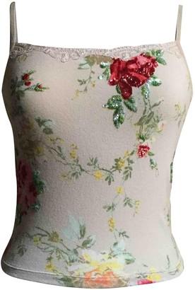 Blumarine Beige Top for Women Vintage