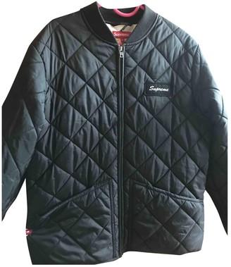 Supreme Black Cotton Jackets