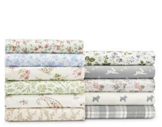 Laura Ashley Cotton Flannel Sheet Set