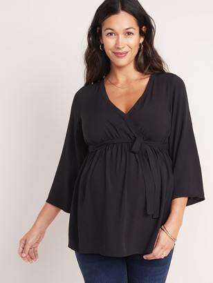 Old Navy Maternity Wrap-Front Top