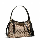 Coach Legacy Double Gusset Crossbody In Signature Fabric