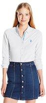U.S. Polo Assn. Juniors Knit Pique Button up Shirt