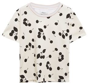 3.1 Phillip Lim Printed Cotton-jersey T-shirt