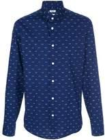 Kenzo Men's Blue Cotton Shirt.