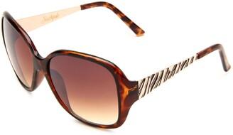 Southpole Womens 145SP TS Oval Sunglasses