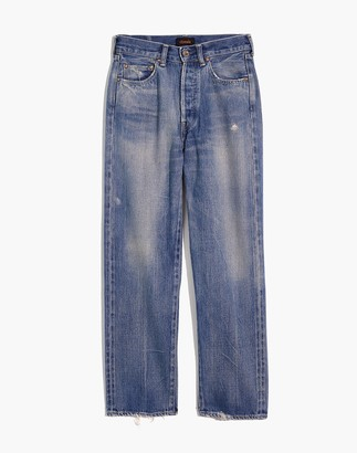 Madewell Chimala Selvedge Denim Straight Cut Jeans
