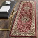 "Safavieh Lyndhurst Collection LNH329C Red and Ivory Runner, 2 feet 3 inches by 12 feet (2'3"" x 12')"