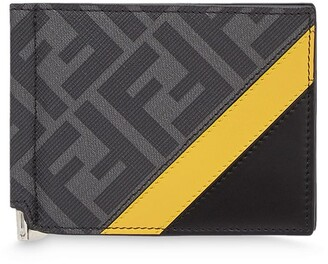 Fendi Monogram Slim Money-Clip Wallet