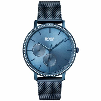 HUGO BOSS Women's Analogue Quartz Watch with Stainless Steel Strap 1502518