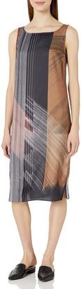 Kenneth Cole Women's Column Overlay Dress