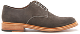 Grenson Finlay Suede Derby Shoes Lavagne