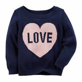 Carter's Crew Neck Long Sleeve Pullover Sweater - Preschool
