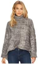 J.o.a. Cable Turtleneck Sweater Women's Sweater