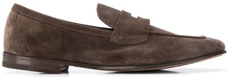 Henderson Baracco Textured Slip-On Loafers