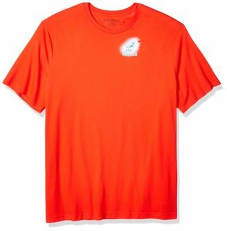 Nautica Men's Big and Tall Short Sleeve Crew Neck Island Print 100% Cotton T-Shirt