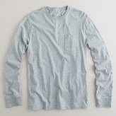 J.Crew Tall broken-in long-sleeve pocket T-shirt