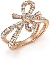 Bloomingdale's Diamond Bow Ring in 14K Rose Gold, .54 ct. t.w. - 100% Exclusive