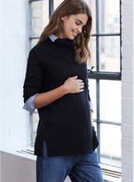 Isabella Oliver Tessa Maternity Roll Neck Jumper