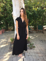 Tysa Juniper Dress in Black