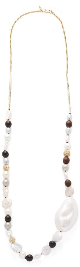 Alexis Bittar Women's Lucite Beaded Strand Liquid Silk Statement Necklace