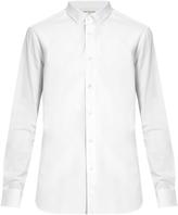 Saint Laurent Button-cuff cotton-poplin shirt