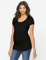 A Pea in the Pod Isabella Oliver Scoop Neck Maternity Tee
