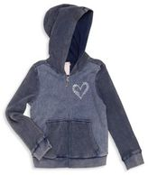 Design History Little Girl's Cotton-Blend Hooded Jacket