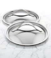 "Anolon Nouvelle 8.5"" & 10"" Stainless Steel Lid Set"