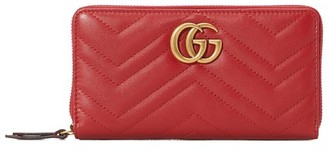 Gucci GG Marmont Zippered Wallet