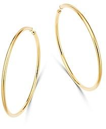 Moon & Meadow 14K Yellow Gold Endless Large Hoop Earrings - 100% Exclusive