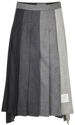 Thom Browne Super 120 pleated skirt