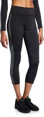 Pam & Gela Mirror Side-Stripe Legging