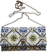 Dolce & Gabbana Sicily leather clutch bag