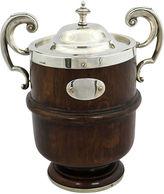 One Kings Lane Vintage Oak & Silver-Plate Trophy Ice Bucket