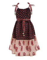 Zimmermann Jaya Stamp Tie Dress