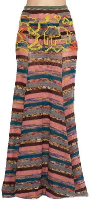 Missoni Maxi Patchwork Skirt