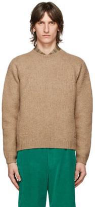 Gucci Tan Wool GG Sweater