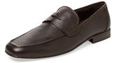 a. testoni Leather Loafer