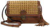 Patricia Nash Distressed Wicker Lanza Crossbody Organizer