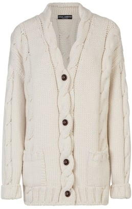 Dolce & Gabbana Cable-Knit Cardigan