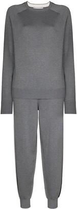 Olivia von Halle Missy London sweatshirt and track pants set