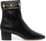 Sandro Azelie studded leather ankle boots