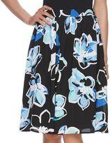 Elle Women's ELLETM Floral Skirt