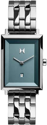 MVMT Women Signature Square Skylar Stainless Steel Bracelet Watch 24mm