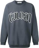 Golden Goose Deluxe Brand logo front sweatshirt