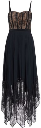 Jonathan Simkhai Scarlett Lace Pleated Dress