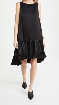 ADEAM Pleated Parachute Dress